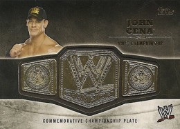 2014 Topps WWE Championship Belt John Cena