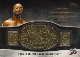 2014 Topps WWE Championship Belts Guide  12