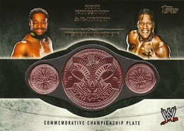 2014 Topps WWE Championship Belts Guide  22