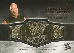 2014 Topps WWE Championship Belts Guide  5
