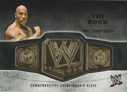 2014 Topps WWE Championship Belts Guide  3
