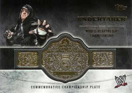 2014 Topps WWE Championship Belts Guide  8