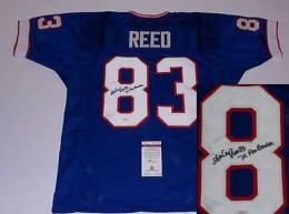 Andre Reed Cards, Rookie Card and Autographed Memorabilia Guide 48