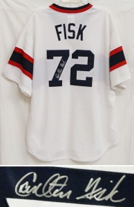 Carlton Fisk Signed Jersey