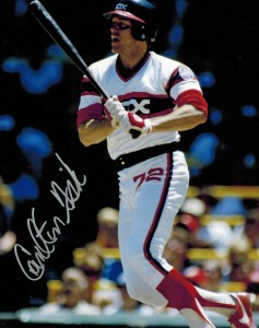 Carlton Fisk Signed Photo
