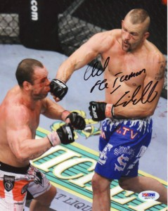 Chuck Liddell Signed Photo