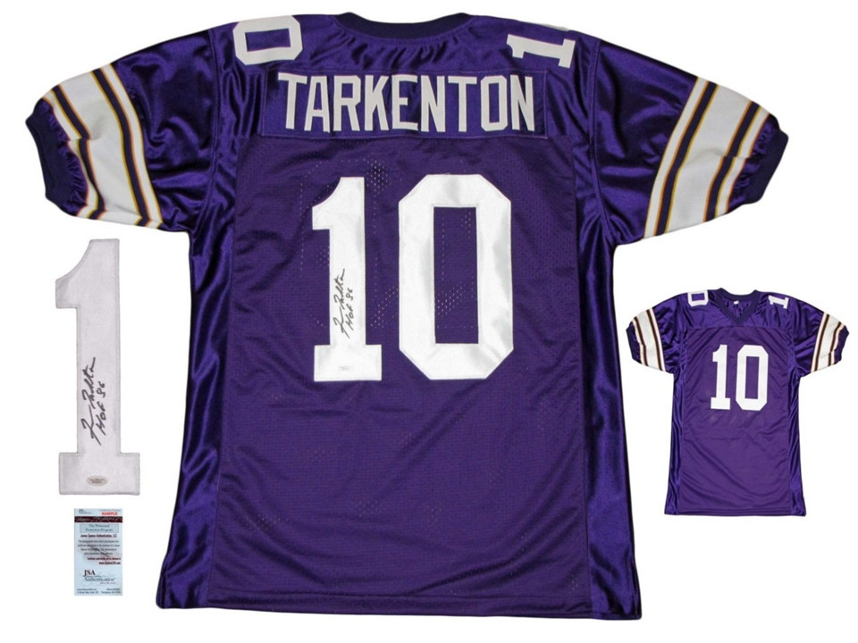 timeless design 8b6dc 114be Fran Tarkenton Cards and Autographed Memorabilia Buying ...