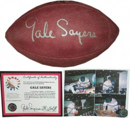 Gale Sayers Cards, Rookie Card and Autographed Memorabilia Guide 24