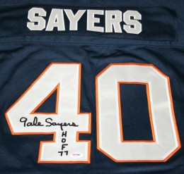 Gale Sayers Cards, Rookie Card and Autographed Memorabilia Guide 22