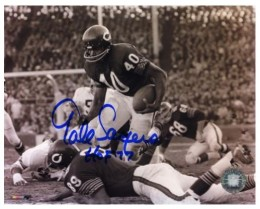 Gale Sayers Cards, Rookie Card and Autographed Memorabilia Guide 27