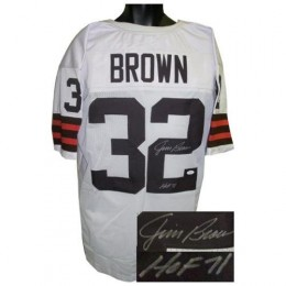 Jim Brown Signed Jersey