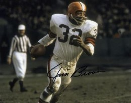 Jim Brown Signed Photo
