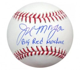 Joe Morgan Signed Baseball