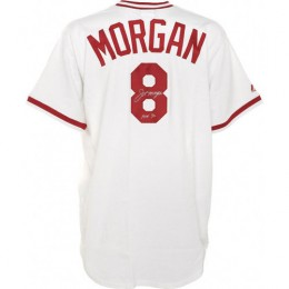 Joe Morgan Signed Jersey