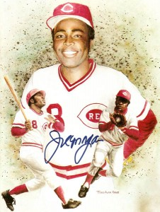 Joe Morgan Signed Photo