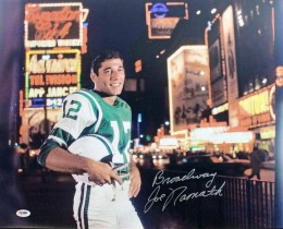 Joe Namath Cards, Rookie Cards and Autographed Memorabilia Guide 44