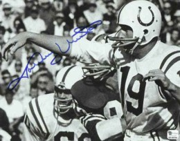 Johnny Unitas Signed Photo