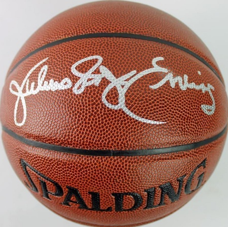 Julius Erving Signed Basketball