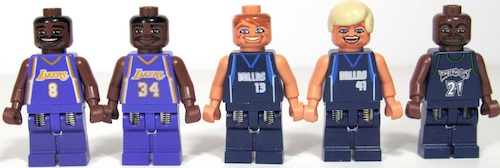 Lego Ultimate NBA Arena Dark Jersey Figures