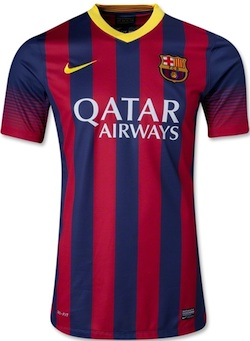 Lionel Messi FC Barcelona Jersey Authentic front