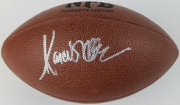 Marcus Allen signed Football