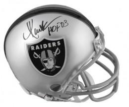 Marcus Allen signed Helmet