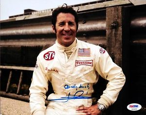 Mario Andretti Cards and Autographed Memorabilia Guide 26