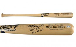 Mike Schmidt Signed Bat 2
