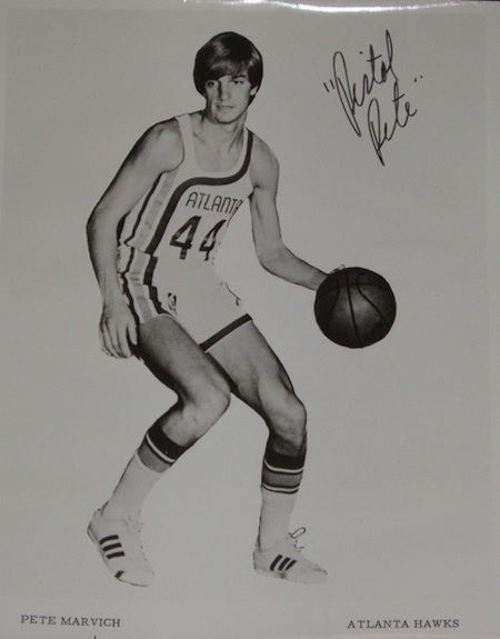 Pete Maravich Cards and Memorabilia Guide 21