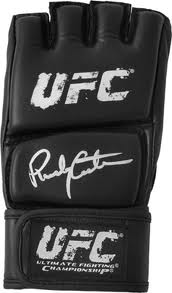 Randy Couture Signed Fight Gloves