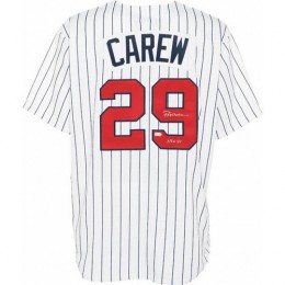 Rod Carew Signed Jersey