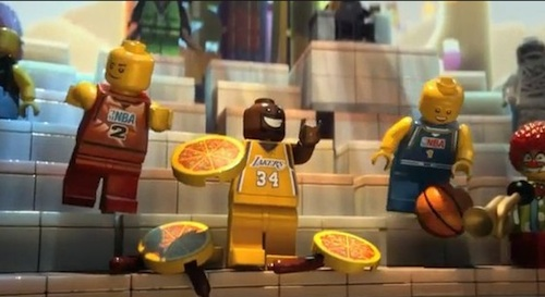 The LEGO Movie Shaquille O'Neal Cameo