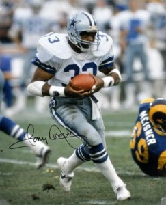 Tony Dorsett Signed Photo