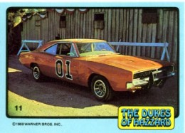 1980 Donruss Dukes of Hazzard Trading Cards 24