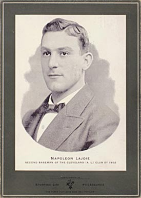 Nap Lajoie Baseball Cards and Autograph Buying Guide 1