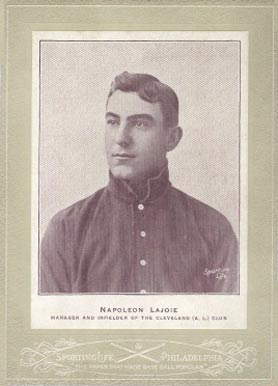Nap Lajoie Baseball Cards and Autograph Buying Guide 2