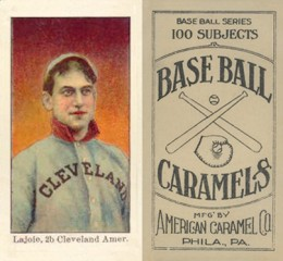 Nap Lajoie Baseball Cards and Autograph Buying Guide 3