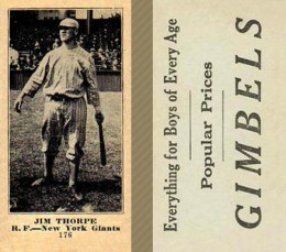 1916 Gimbels (M101-5) Jim Thorpe #176