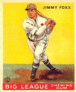 Top 10 Jimmie Foxx Baseball Cards 11