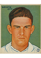 Mel Ott Baseball Cards and Autographed Memorabilia Guide
