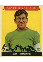 Jim Thorpe Cards and Autograph Guide
