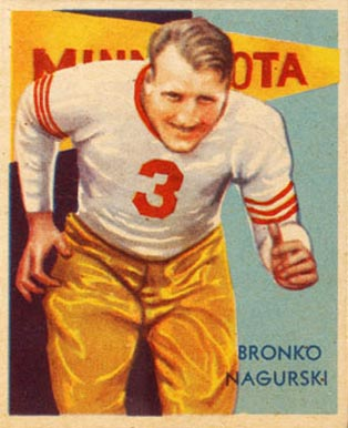 1935 National Chicle Football Cards 1