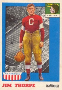 1955 Topps All-American Jim Thorpe #37