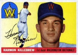 Top 10 Harmon Killebrew Baseball Cards 10