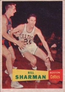 1957-58 Topps Bill Sharman RC