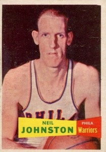 1957-58 Topps Neil Johnston RC