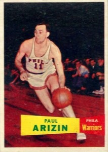 1957-58 Topps Paul Arizin RC