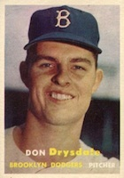 Don Drysdale Cards and Autographed Memorabilia Guide