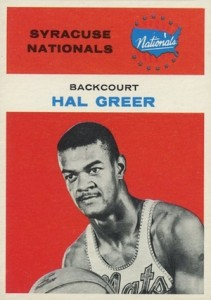 1961-62 Fleer Hal Greer RC