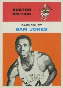 1961-62 Fleer Sam Jones RC